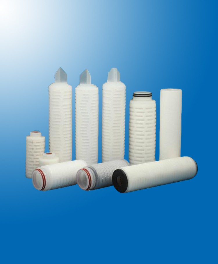 PVDF Membrane Pleated Filter Cartridge
